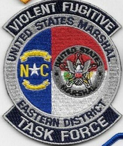 VIOLENT FUGITIVE TASK FORCE EASTERN DISTRICT NORTH CAROLINA NC USMS MARSHAL
