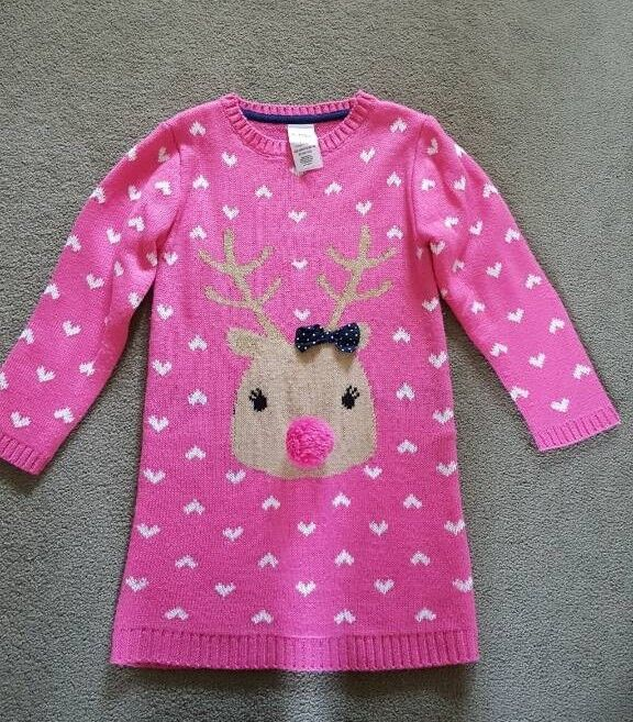 Girls Christmas jumper age 6 years