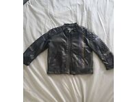 Kids leatber jacket