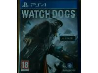 Watch dogs ps4 PlayStation 4 game