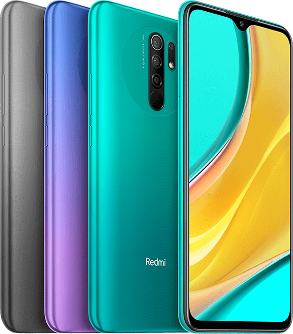 Android Phone - Xiaomi Redmi 9 64GB 4GB RAM GSM Factory Unlocked Global Version (NEW)