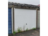 Freehold lock-up garage in secluded location in Rustington