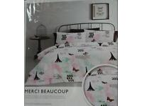 Double QUILT COVER/ MATCHING PILLOW CASES. NEW