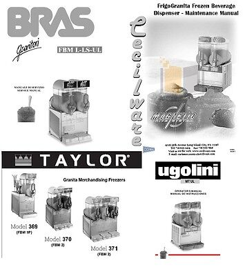 White Mixers Augers Inner And Outer Spirals For Ugolini Taylor Cecilware Bras