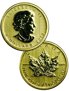 2013-Canada-1-10-Oz-9999-Fine-Gold-Maple-Leaf-5-Coin-SKU27478