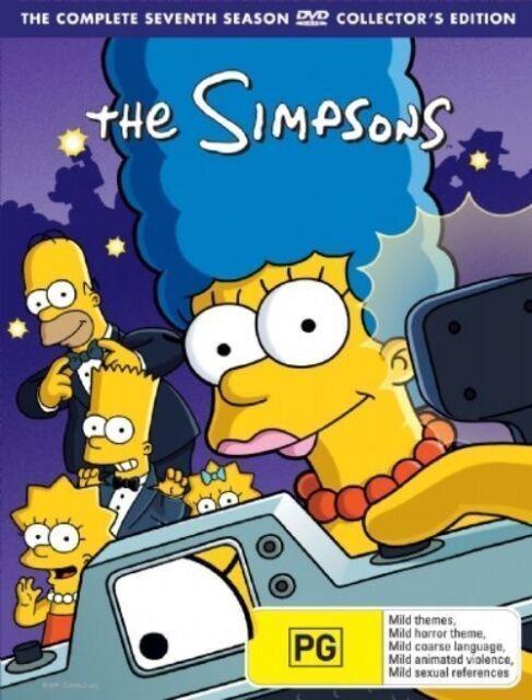 The SIMPSONS: The COMPLETE Season 7 DVD TV SERIES BRAND NEW 4-DISCS BOX SET R4