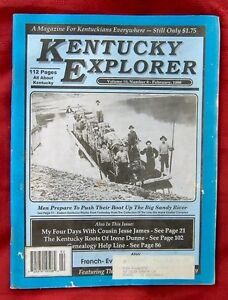 KENTUCKY EXPLORER MAGAZINE VOLUME 10, NUMBER 8, FEBRUARY 1996 - JESSE JAMES...