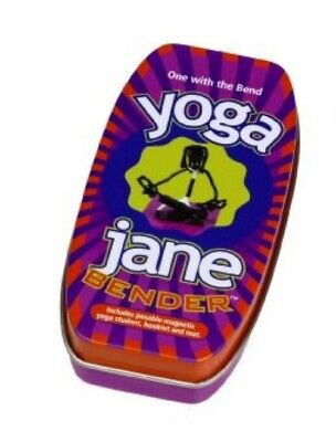 Yoga Jane Bender NEW Hog Wild Toys includes figure booklet and mat - workout fun