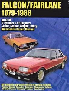 Ford Falcon & Fairlane XD, XE & XF 1979 - 1988  Repair Manual Blacktown Blacktown Area Preview