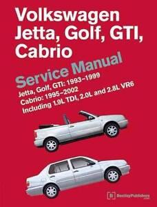 Volkswagen VW Jetta Golf GTI 1993 - 1999 Cabrio 1995 - 2002 Servi Hazelbrook Blue Mountains Preview