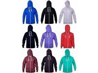 Zip Up Hoodies, Pull Over Style Hoodies, Tracksuits, T-Shirts Individual Items or Wholesale