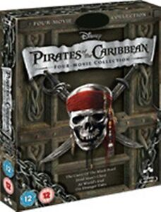 Pirates-of-the-Caribbean-Collection-Box-Set-1-2-3-4-Quadrilogy-New-DVD-Region-4