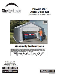 Electric Shelter Door With Remote