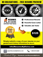 ☀ BEST RESUME SERVICE IN TOWN: NO COMMITMENT & NO OBLIGATIONS!