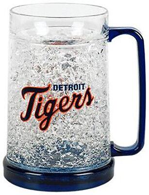 MLB, 16oz Crystal Freezer Mug, Detroit Tigers, NEW