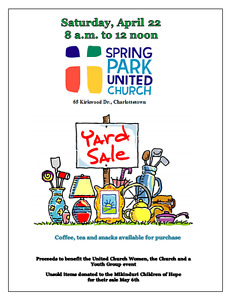 Spring Park United Church Annual Yard Sale