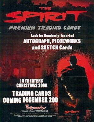 PROMO SELL SHEET AD - THE SPIRIT + BONUS! - FREE! - PROMO CARD #P-1