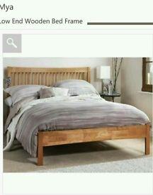 Kingsize Oak bed