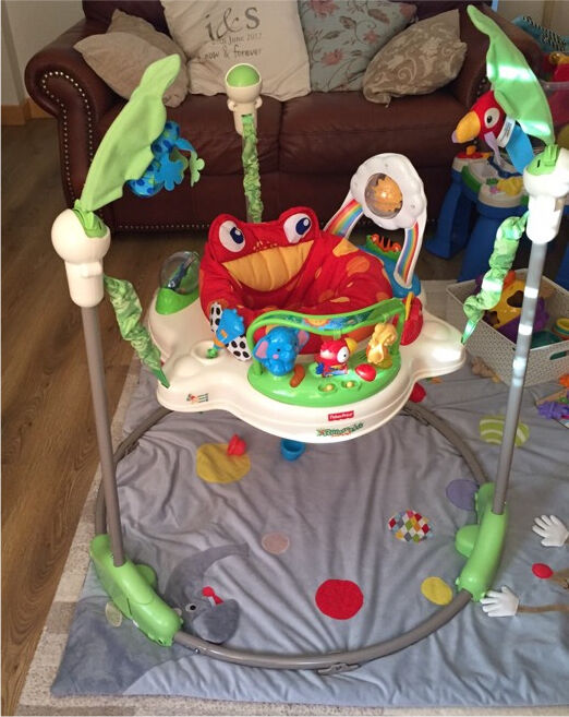 Fisher price jumperoo 35 in abbeydale gloucestershire for Door jumperoo