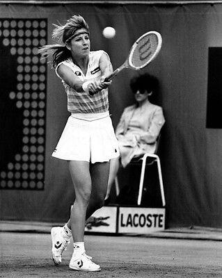 Tennis Pro CHRIS EVERT Glossy 8x10 Photo Print Wimbledon US Open Poster