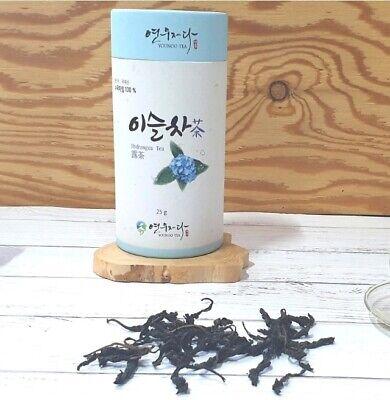 [YOUNOO JEDA] Korean Handmade Organic Hydrangea Tea(Dew Tea) from MT.Jiri - 25g
