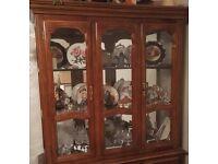 Storage Display unit, bookcase, buffet hutch ornament storage mirror shelving