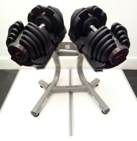Bowflex1090 4-41kg with stand