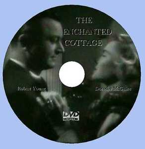 THE ENCHANTED COTTAGE (1945) dvd comes in a plastic  sleeve and printed on