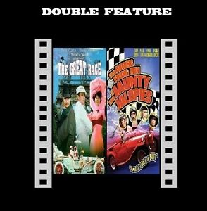 The Great Race / Monte Carlo Or Bust (Tony Curtis Terry Thomas) R2 comp New DVD