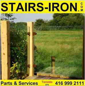 Outdoor Glass Railing from $80 L/ft