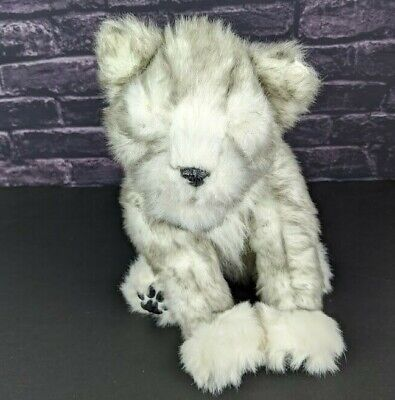 Wow Wee Alive Siberian Husky Pup Wolf Dog Interactive Electronic Plush Toy 2008