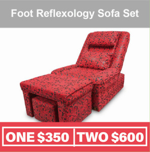 Foot Massage Table Bed With Foot Rest ON SALE! from $350.00