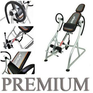 NEW-Premium-Curve-Fitness-Therapy-Back-Relief-Inversion-Table-Gravity