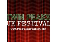 Twin Peaks UK Festival London 12th Nov