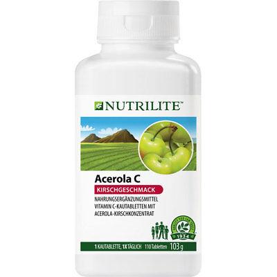 110 Tabletten (NUTRILITE Acerola C Kautabletten   Vitamin C   110 Tabletten   Amway   Amava)