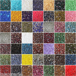 1000-Crystal-Flat-Back-Acrylic-Rhinestones-Gems-30-colors-2mm-3mm-4mm-5mm