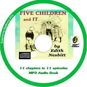 Five-Children-It-Audio-Book-MP3-CD-by-E-NESBIT-11-episodes