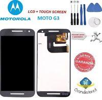 Lcd Display Motorola Moto G3 Xt1541 Xt1540 Xt1550 Schermo Originale Nero Nuovo - motorola - ebay.it