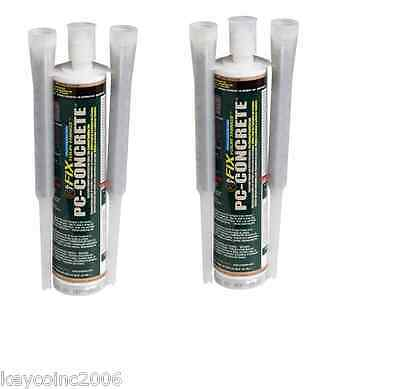 2 Pack Pc Products Pc-concrete Two-part Epoxy Adhesive Paste