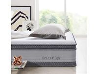 King size memory foam mattress bought 6 moths ago used occasionally