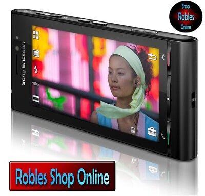Sony Ericsson Satio U1 Black Simlock Frei Smartphone 12MP WLAN 3G GPS Touch NEU Sony Ericsson Symbian