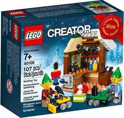 LEGO Atelier jouets lutins, Toy Workshop (40106) - NEUF/NEW - SCELLÉ/SEALED