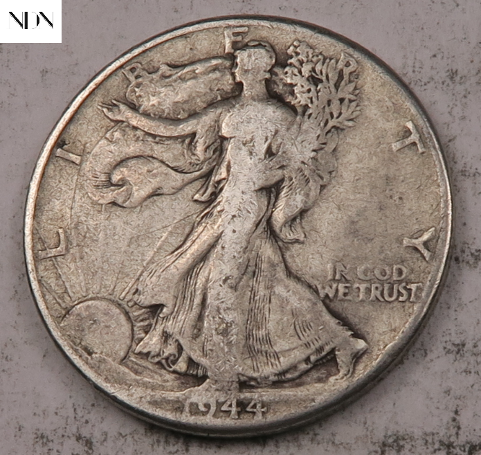 1944 Walking Liberty Half Dollar Entire Series Listed 90 Silver 156 - $0.99