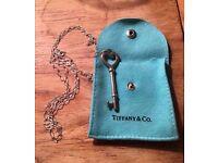 Tiffany & Co Large Key Necklace