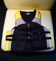 Pair of Adult FLUID Life Jackets. Adult Medium