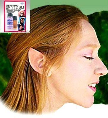 Halloween Kostüm Ohrenspitzen Elfen Fee Hobbit Spock Mehron Hautkleber Entferner