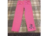 Minnie Mouse trousers 3-4 years