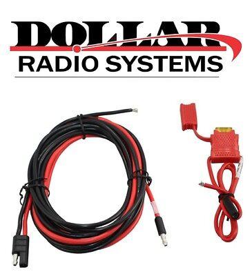 New Motorola Power Cable For M1225 Sm50 Cdm1550ls Cm300d Xpr4550 Mobile Hkn4137