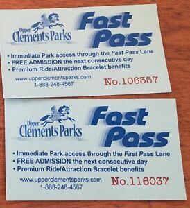 Upper Clements Fast Passes