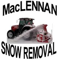MacLennan Snow Removal $230.00 for the 2015/2016 season!!